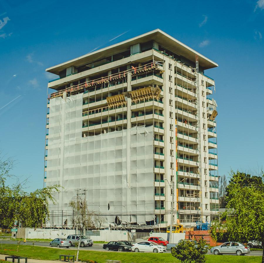 Instalación de ascensores Edificio Alto Huerto Concepción 2
